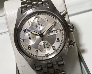 IWC Pilot Spitfire Watch Chronograph Automatic Day, Date, Chronograph IW370628