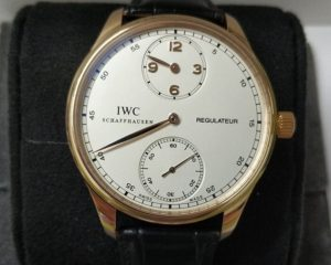 IWC Portuguese Regulateur IW544402 Rose Gold Manual Winding