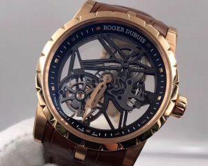 Roger Dubuis EXCALIBUR 42 Skeleton Tourbillon 18K Pink Gold RDDBEX0392