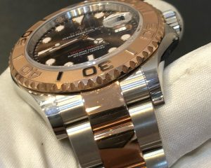 Rolex Yacht Master Two Tone SS/RG Chocolate 116621