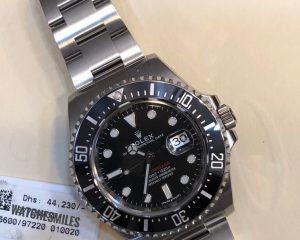 New Rolex Sea-dweller Ceramics - Steel Black Automatic 126600