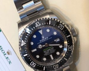 Rolex Deepsea D Blue 126660 2018 Novelty 44MM