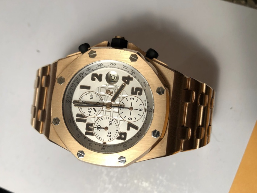 Royal oak offshore chronograph rose gold 42mm 26170or watchesmiles for Royal oak offshore rose gold 42mm
