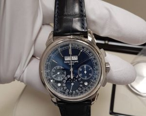 Patek Philippe Perpetual Calendar Chronograph Blue Dial 5270G-019
