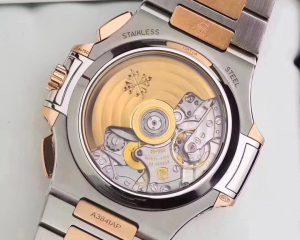 Nautilus Chronograph Two Tone Rose Gold/Steel 5980/1AR