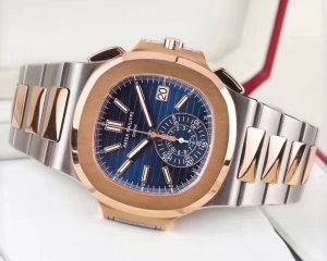 Nautilus Chronograph Two Tone Rose Gold/Steel 5980/1AR