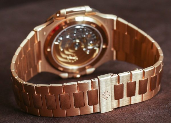 Nautilus Brown Dial 18K Rose Gold 5711/1R-001
