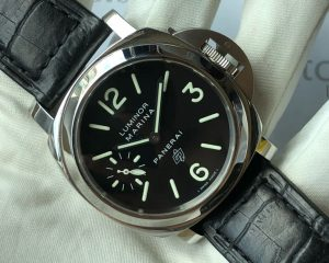 Panerai PAM 005  Luminor Marina OP Logo 44mm I Series Box & Warranty Card