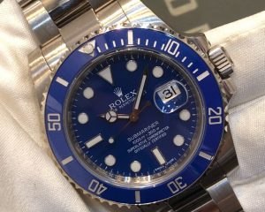 Submariner Date Blue Dial 116619LB White Gold
