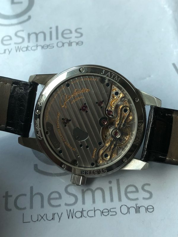 Glashutte Original PanoReserve 65-01-02-02-04 Stainless Steel