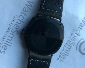 Panerai Radiomir PAM643 R Black Seal Ceramic Hobnail Dial 45mm