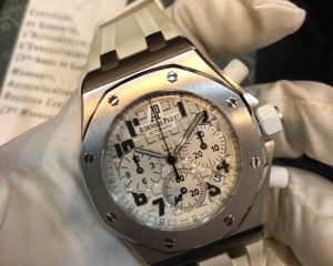Audemars Piguet Lady Royal Oak Offshore Chronograph Stainless Steel White Dial 26283ST.OO.D010CA.01