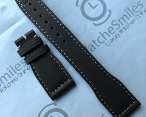 Brown Calf Leather Strap for Big Pilot  140/55 | 22/18