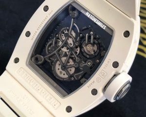 Richard Mille RM055 Bubba Watson White Ceramic & Titanium