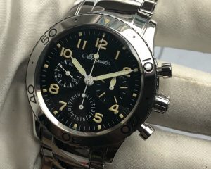 Breguet Type XX 3800 Chronograph Steel T Dial 40mm