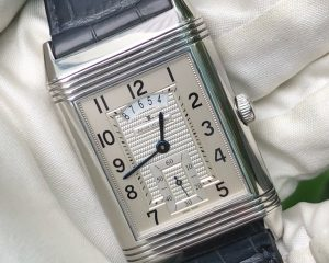 Jaeger-LeCoultre  Reverso Duoface Night & Day 273.8.85 Jumbo Size Steel