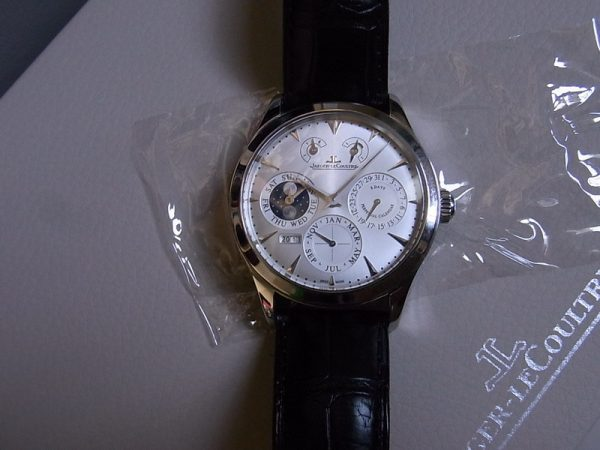 Jaeger-LeCoultre Master Eight Days Perpetual Calendar Q1618420 Stainless Steel