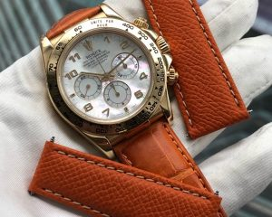 Rolex Daytona Yellow Gold 16518 Mother of Pearl Dial