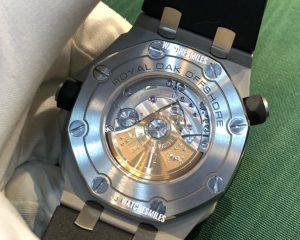 Audemars Piguet Royal Oak Offshore Diver White Dail 15710ST