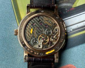 A. Lange & Söhne Lange 1 Timezone 18K Rose Gold Reference116.032