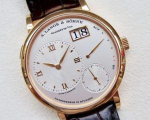 A Lange & Sohne Grand Lange 1 Rose Gold 40.9mm 117.032
