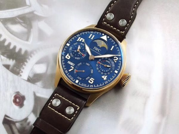 IWC Big Pilot Le Petit Prince Perpetual Calendar IW502802 Rose Gold Limited Edition