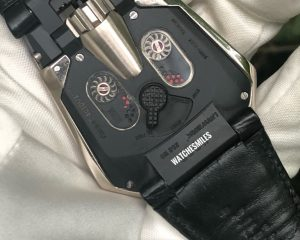 Urwerk UR202 Men Automatic Watch White Gold /w Paper