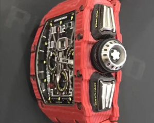 Richard Mille RM11-03 Red Quartz TPT NTPT Annual Calendar Flyback Chronograph