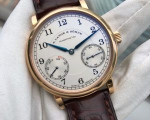 A Lange & Sohne 1815 up/down 18K Rose Gold ref 234.032