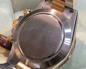 Rolex Daytona Tow Tone 18K/SS White Dial M Serial