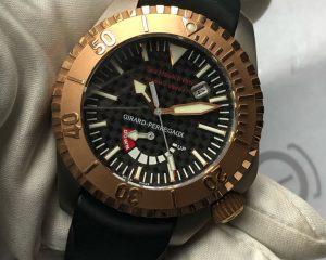 Girard Perregaux Sea Hawk II Pro 3000M Diver Rod Gold/Titanium ref 49940