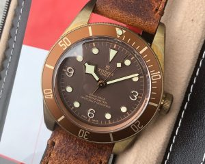 Tudor Heritage Black Bay Bronze Reference 79250BM
