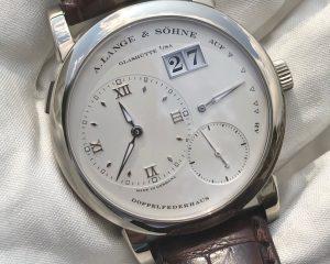 A. Lange & Söhne Lange 1 White Gold Silver Dial 101.039