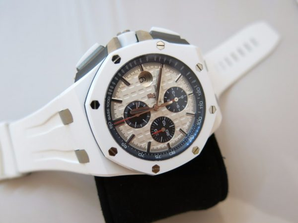 Audemars Piguet Royal Oak Offshore White Ceramic Chronograph 26402CB.OO.A010CA.01