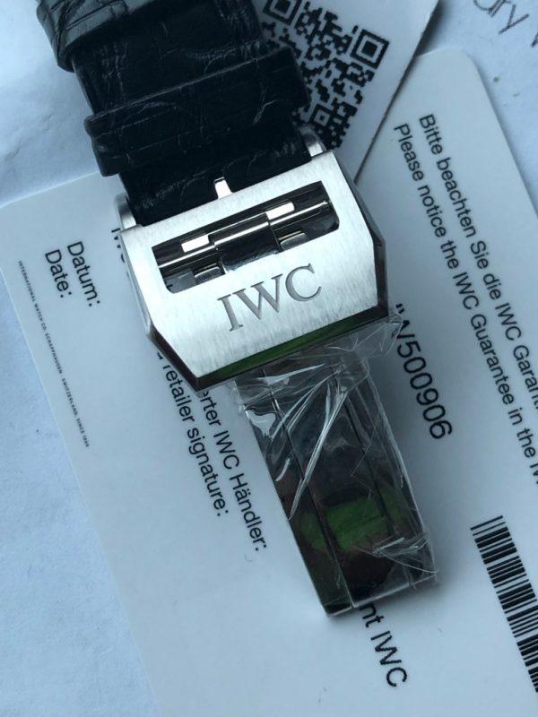 IWC Big Pilot Rhodium Dia Father & Son Edition IW500906