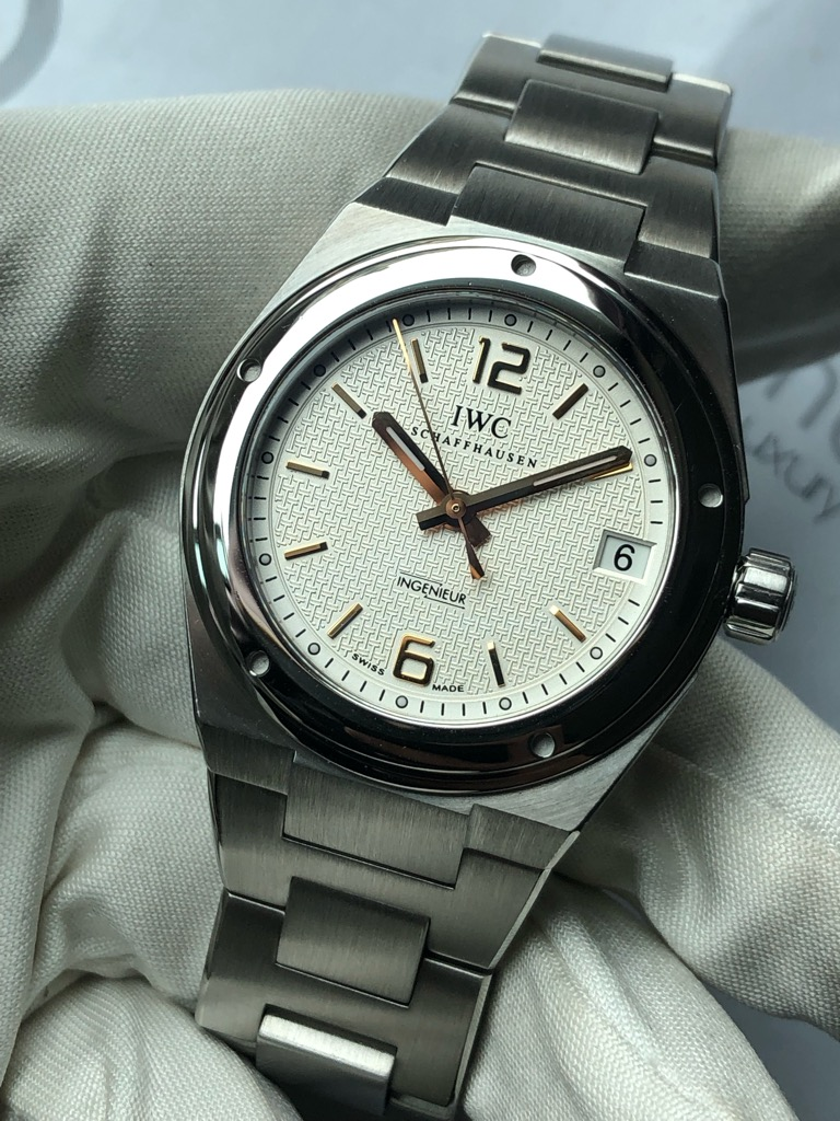 WatchNet: Trading Post: FS: IWC Ingenieur IW4515 Mid-size 34mm Auto