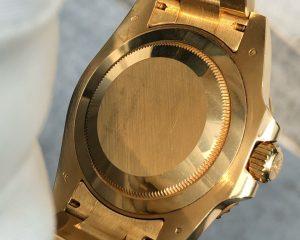 Rolex GMT Master II 18K Yellow Gold 116718LN Black Dial