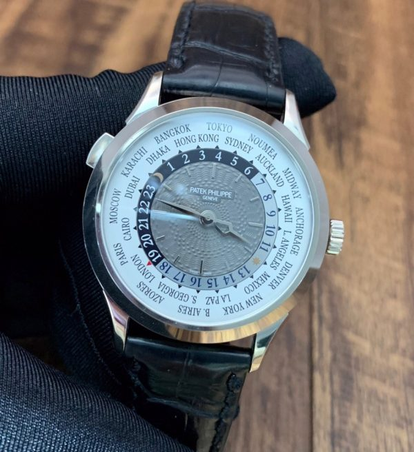 Patek Philippe World Time White Gold 5230G-001