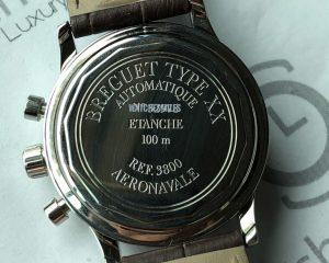 Breguet Type XX Aeronavale 3800ST Chronograph Black Dial