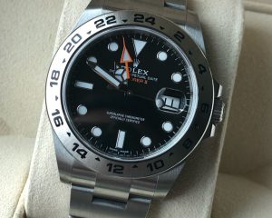 New Rolex Explorer II Black Dial 216570
