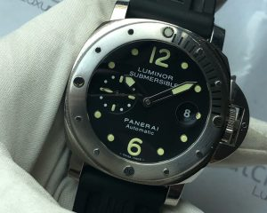 Panerai Luminor Submersible PAM0024 Stainless Steel 44mm Full Set