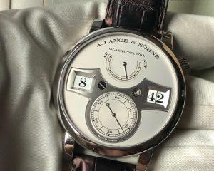 A Lange & Sohne Zeitwerk Platinum 140.025 Limited Edition 200 pcs