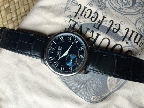 F.P. Journe Chronomètre Bleu Tantulum Blue Dial