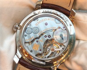 H.Moser & Cie Mayu White Gold Brown Dial