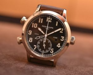 Patek Philippe Calatrava Pilot Travel Time 7234R Lady Rose Gold