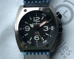 Bell & Ross BR02 Marine 1000M Diver Steel