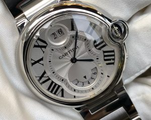 Cartier Ballon Bleu XL de Cartier Two Timezone W6920011 Quartz