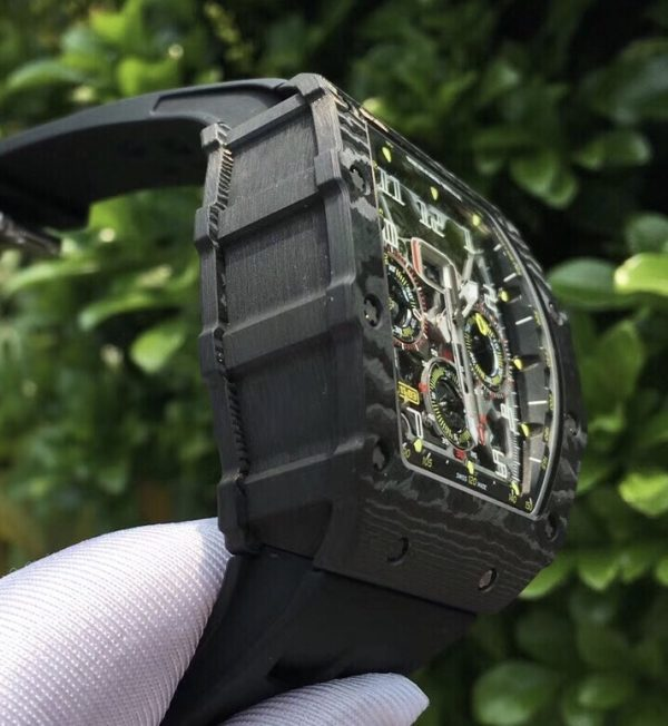 Richard Mille RM11-03 Black Carbon NTPT Automatic Flyback Chronograph