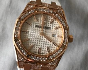 Royal Oak Lady Quartz Rose Gold Diamond 67652OR.ZZ.D011CR.0101