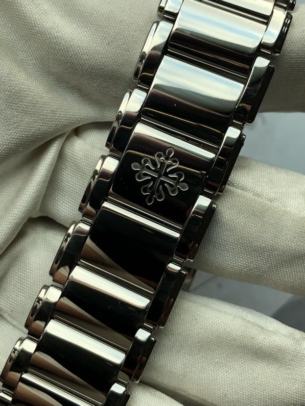 Twenty-4 Rhodium Diamond Eternal Gray Dial Quartz 4910/10A-010